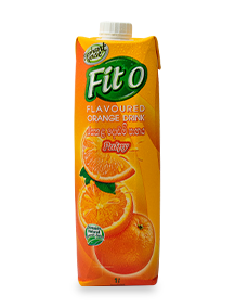 Elephant House Fit-O orange flavour 1l pack