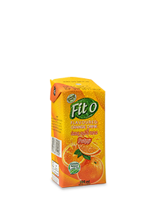 Elephant House Fit-O orange flavour 200ml pack