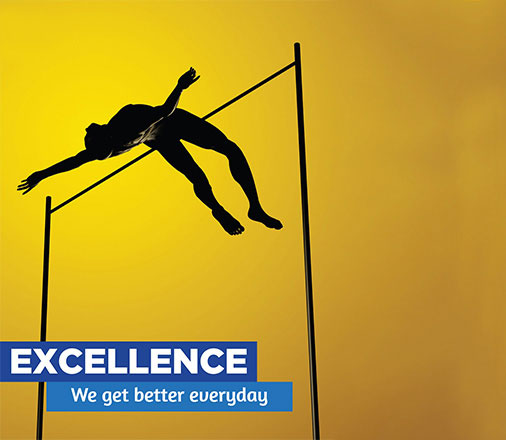 Our Values - Excellence