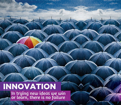 Our Values - Innovation