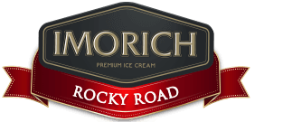 Elephant House IMORICH Rocky Road Ice Cream logo