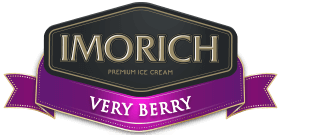 Elephant House IMORICH Very Berry Ice Cream logo