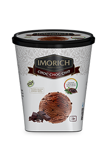Elephant House IMORICH Choc Choc Chip Ice Cream - 1l