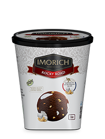 Elephant House IMORICH Rocky Road Ice Cream logo - 1l pack