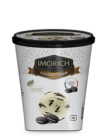 Elephant House IMORICH Cookie Cream ice cream